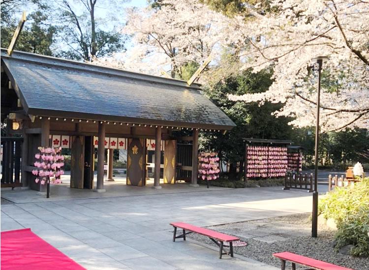 櫻木神社 しあわせの桜咲く – 千葉県野田市